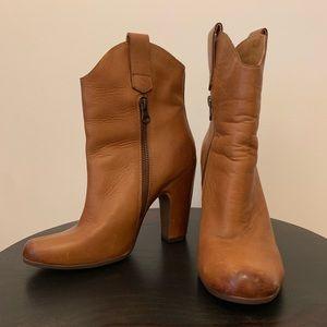 Kork-ease leather booties